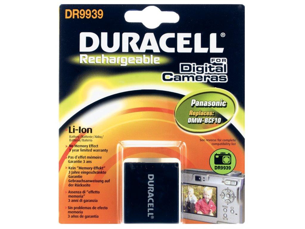 Baterie do fotoaparátu Panasonic Lumix DMC-TZ8EB-S/Lumix DMC-ZR1/Lumix DMC-ZR1A/Lumix DMC-ZR1K/Lumix DMC-ZR1R/Lumix DMC-ZR1S/Lumix DMC-ZR1W/Lumix DMC-ZR3A/Lumix DMC-ZR3R/Lumix DMC-ZS1, 850mAh, 3.7V, DR9940, blistr