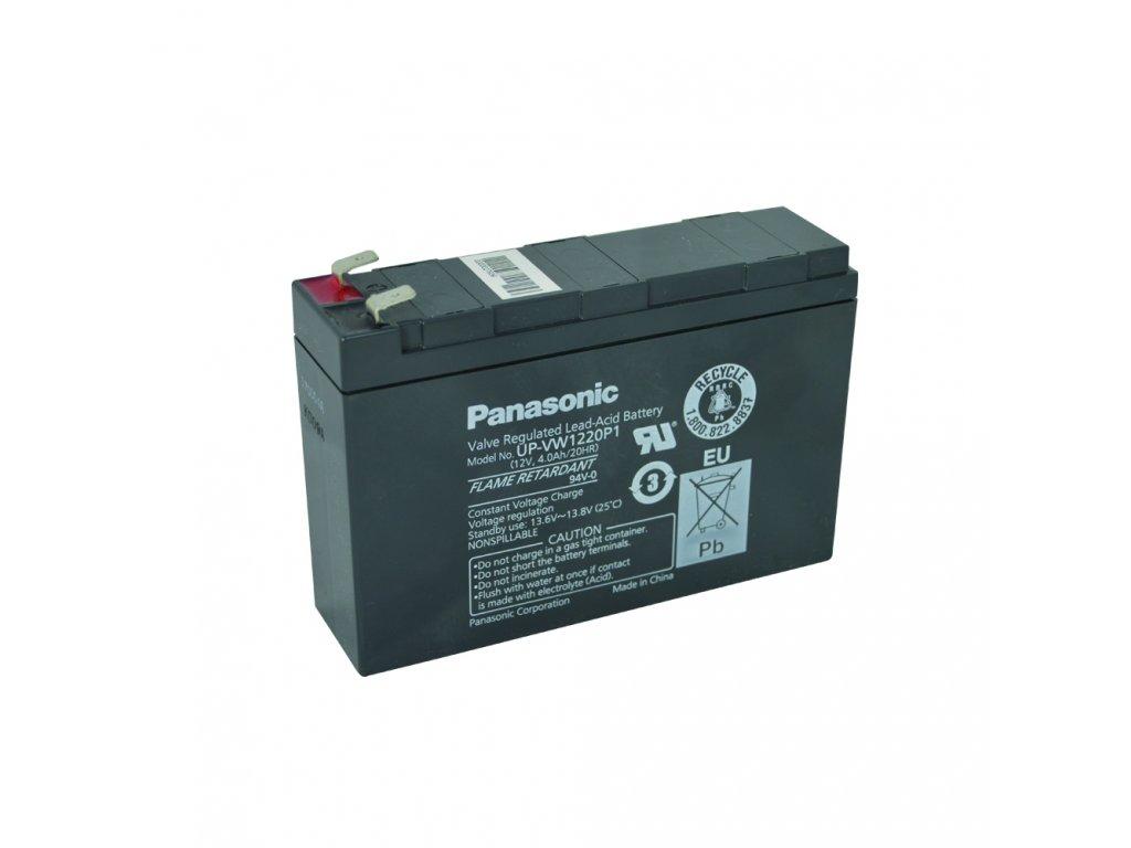 Staniční (záložní) baterie PANASONIC UP-RW1220P1, 4,2Ah, 12V