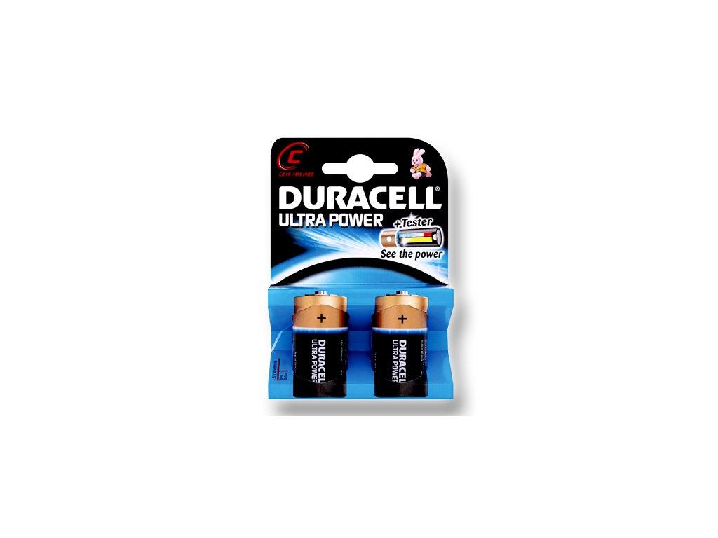 DURACELL Ultra článek 1.5V, C (MX1400)