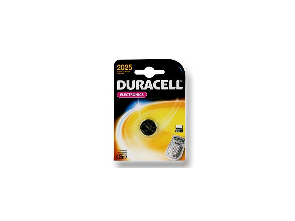 DURACELL knoflíkový článek 3V, CR2025 (DL2025)