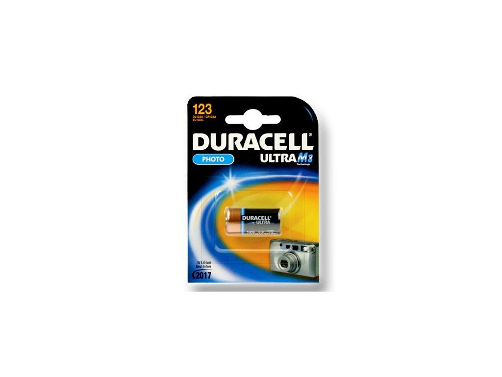 DURACELL Photo Lithium článek 3V, CR123 (DL123)