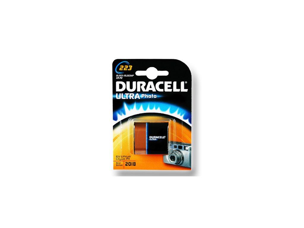 DURACELL Photo Lithium článek 6V, CR223 (DL223A)