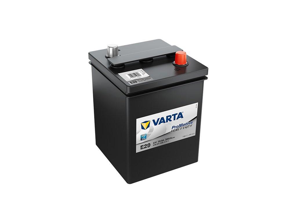 Autobatérie VARTA PROMOTIVE BLACK 70Ah, 300A, 6V, E29