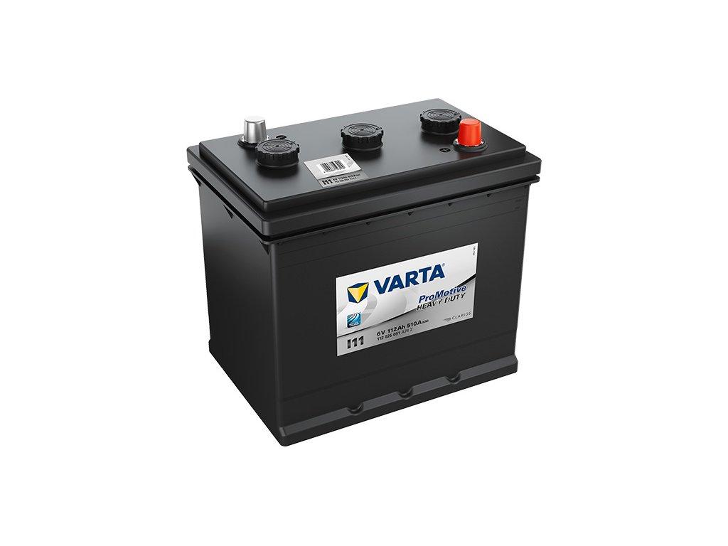 Autobatérie VARTA PROMOTIVE BLACK 112Ah, 510A, 6V, I11