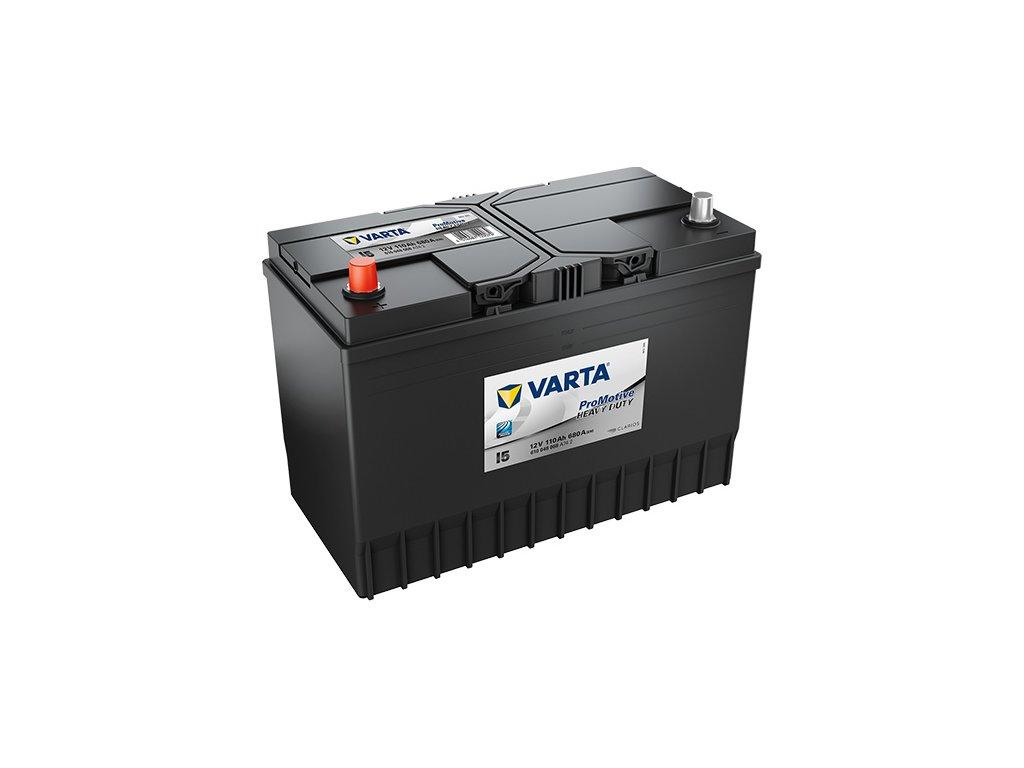 Autobatérie VARTA PROMOTIVE BLACK 110Ah, 680A, 12V, I5
