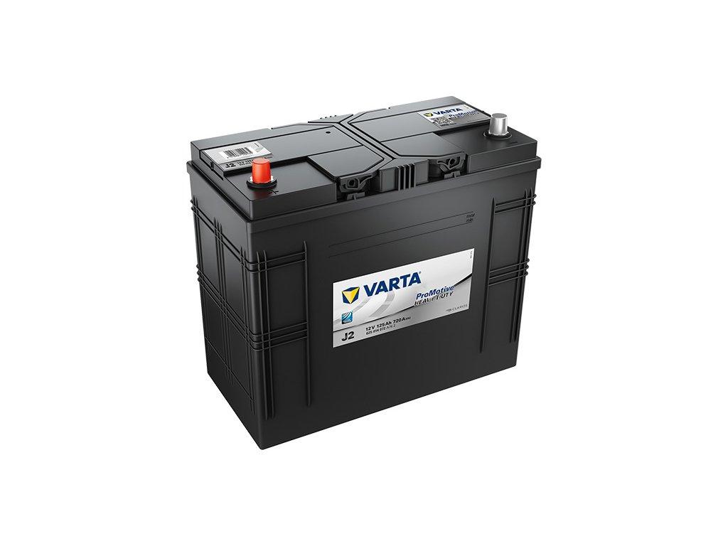 Autobatérie VARTA PROMOTIVE BLACK 125Ah, 720A, 12V, J2