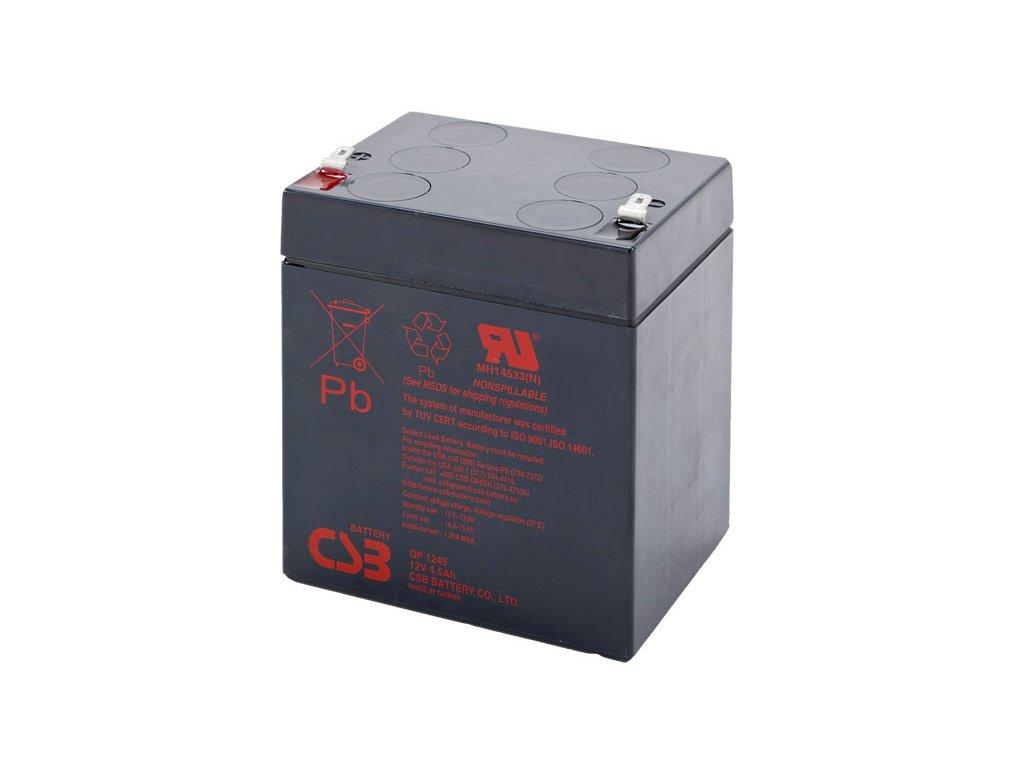 CSB Batéria GP1245 F1, 12V, 4,5Ah