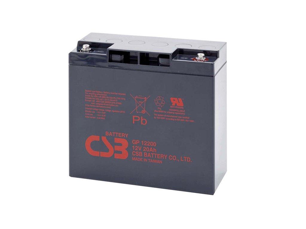CSB Batéria GP12200, 12V, 20Ah