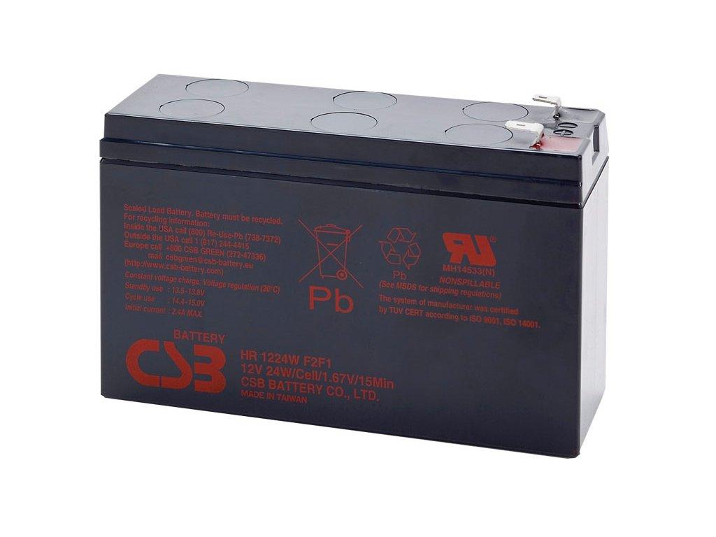 CSB Batéria HR1224W F2F1, 12V, 6,4Ah