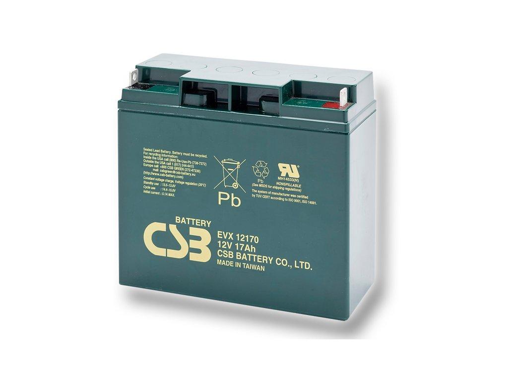 Batéria CSB EVX12170, 12V, 17Ah