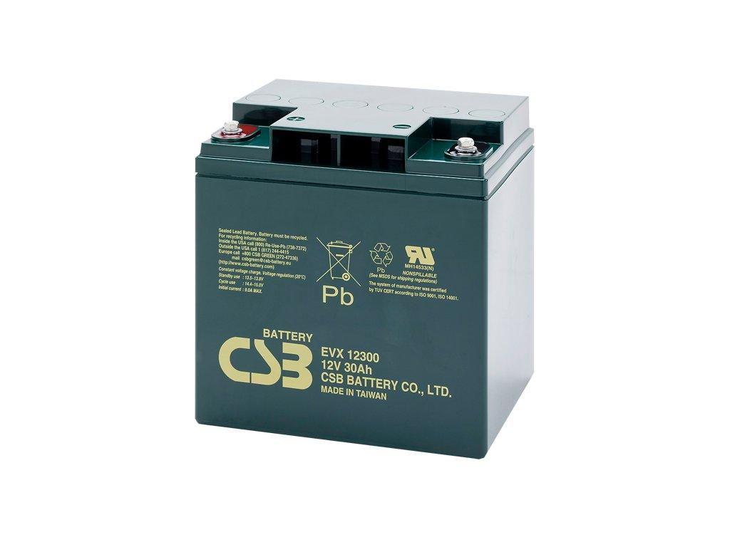 Batéria CSB EVX12300, 12V, 30Ah