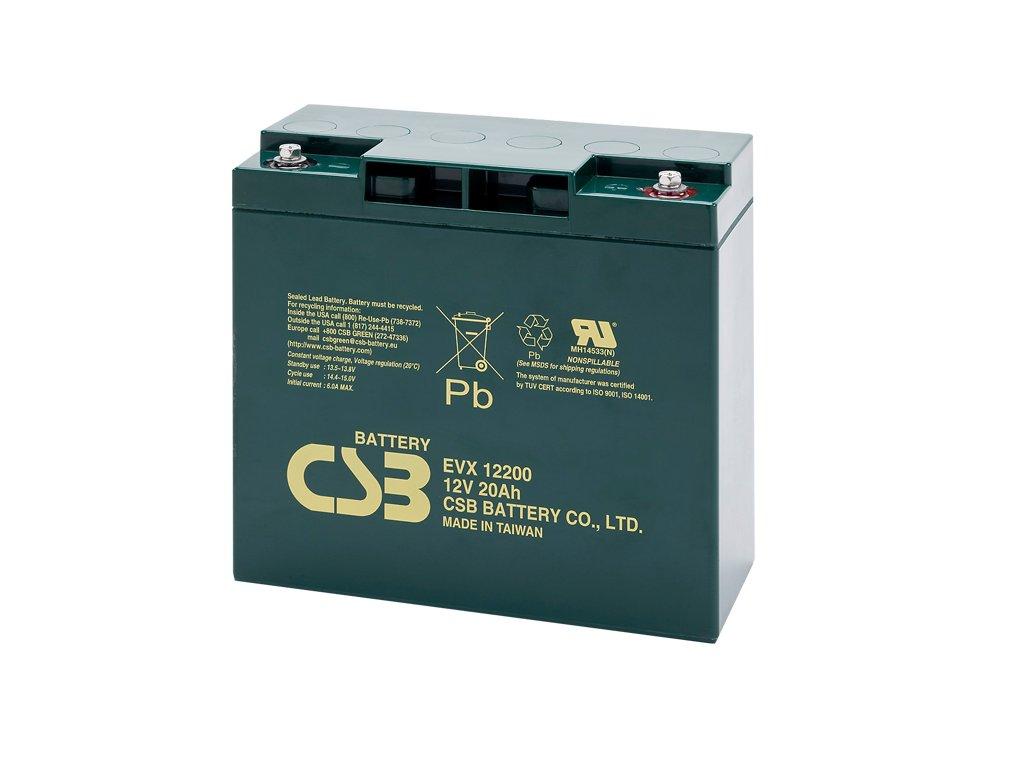 CSB Batéria EVX12200, 12V, 20Ah