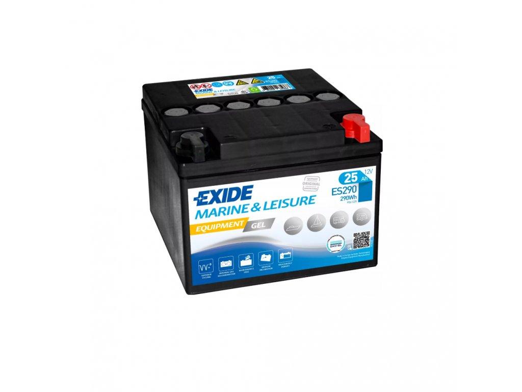 Trakčná batéria EXIDE EQUIPMENT GEL 25Ah, 12V, ES290 (ES 290)