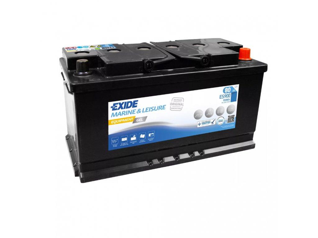 Trakčná batéria EXIDE EQUIPMENT GEL 80Ah, 12V, ES900 (ES 900)