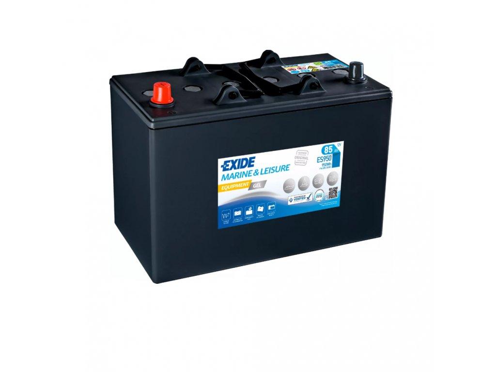 Trakčná batéria EXIDE EQUIPMENT GEL 85Ah, 12V, ES950 (ES 950)