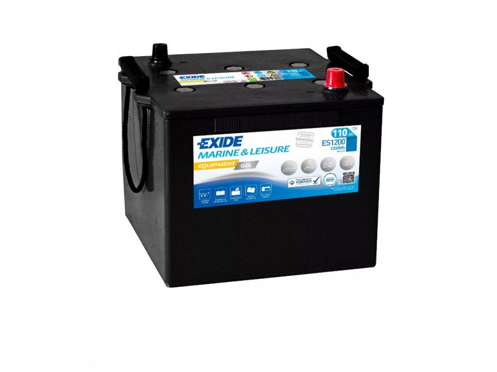 Trakčná batéria EXIDE EQUIPMENT GEL 110Ah, 12V, ES1200 (ES 1200)