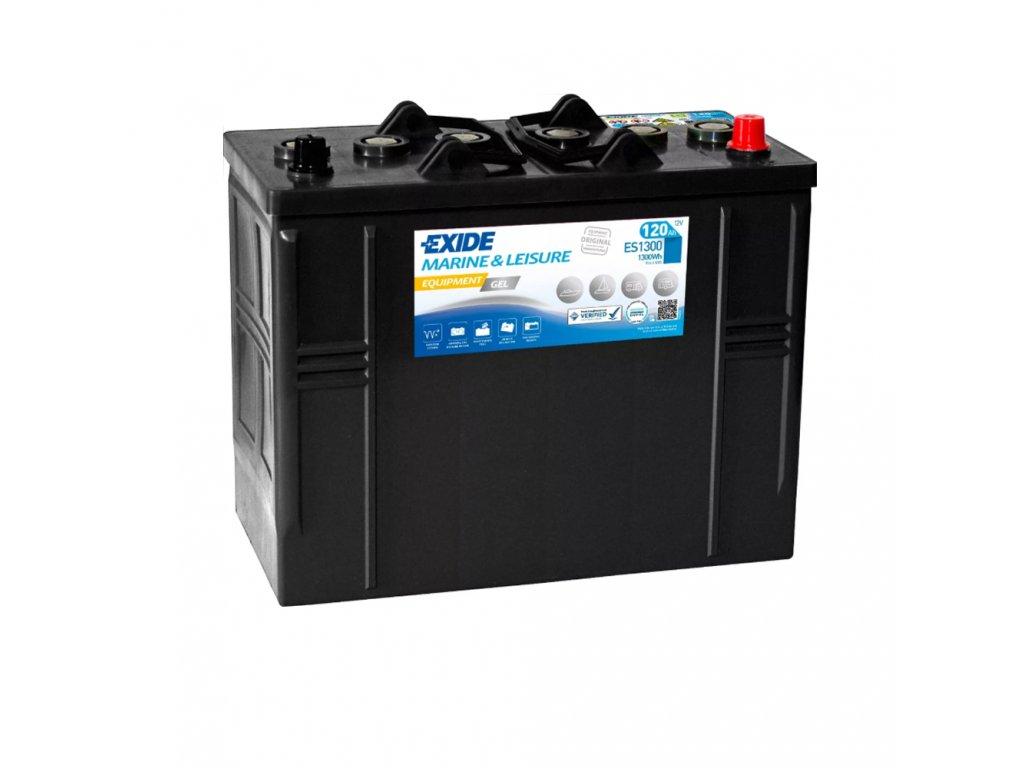 Trakčná batéria EXIDE EQUIPMENT GEL 120Ah, 12V, ES1300 (ES 1300)