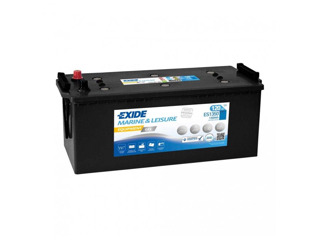Trakčná batéria EXIDE EQUIPMENT GEL 120Ah, 12V, ES1350 (ES 1350)
