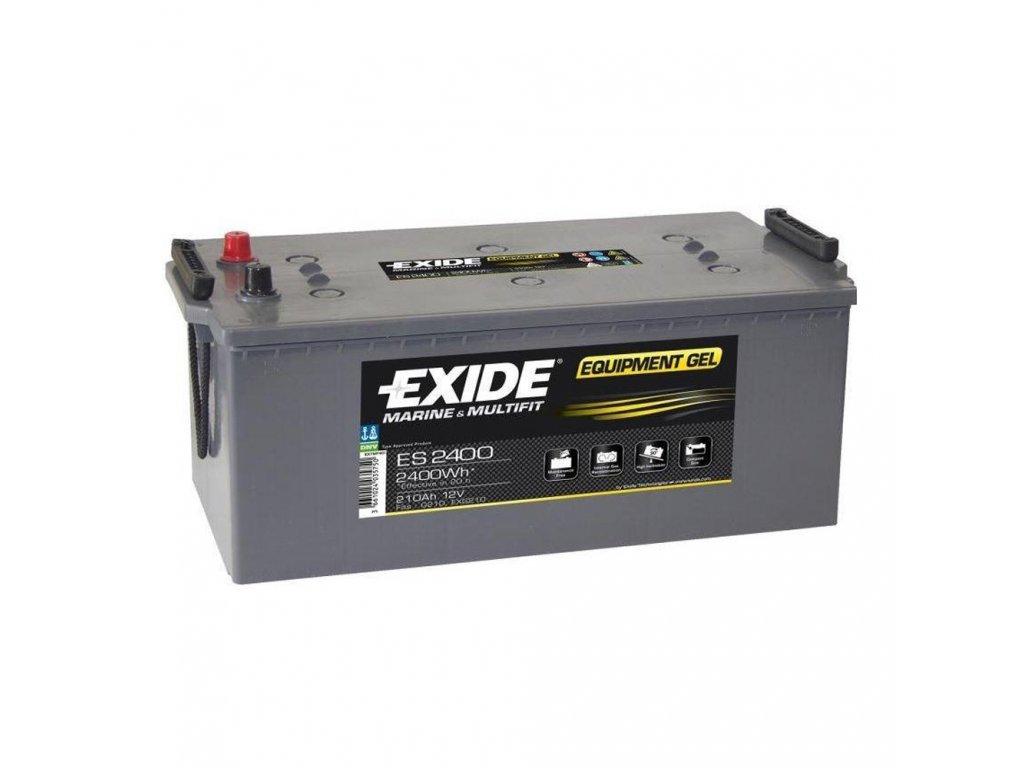 Trakčná batéria EXIDE EQUIPMENT GEL 210Ah, 12V, ES2400 (ES 2400)