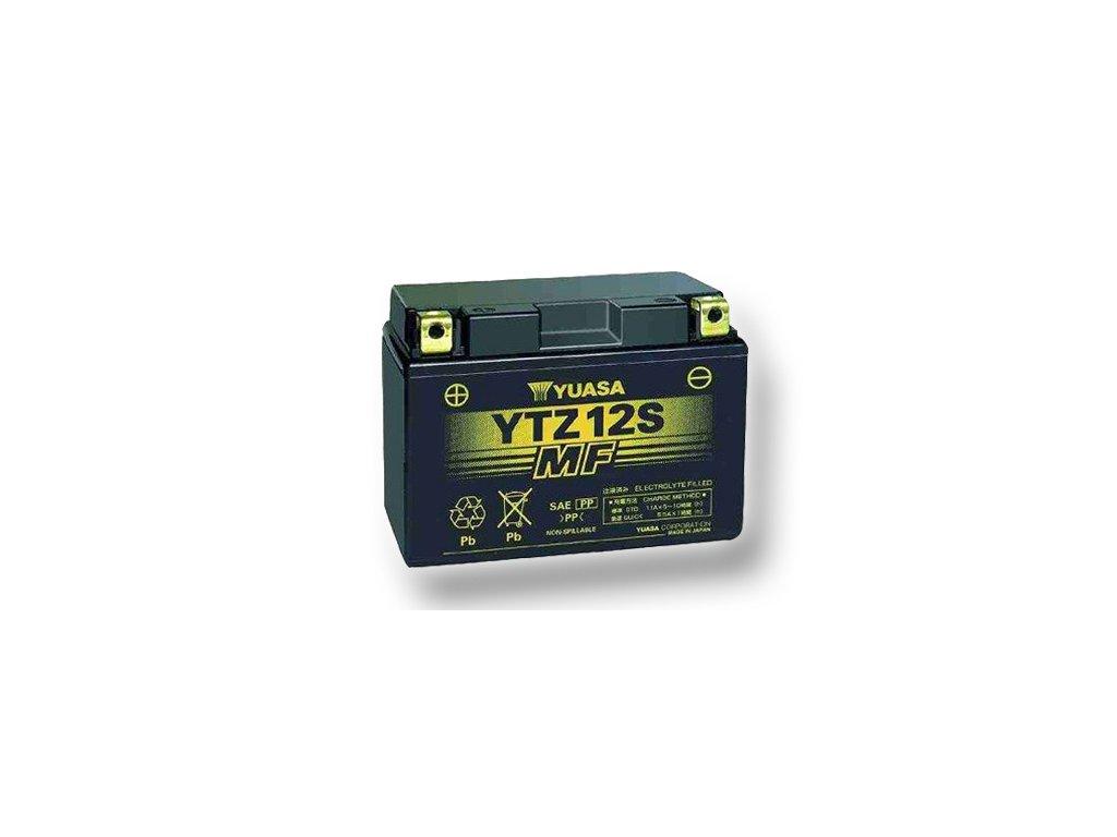 Motobatéria YUASA (originál) YTZ12S, 12V,  11Ah