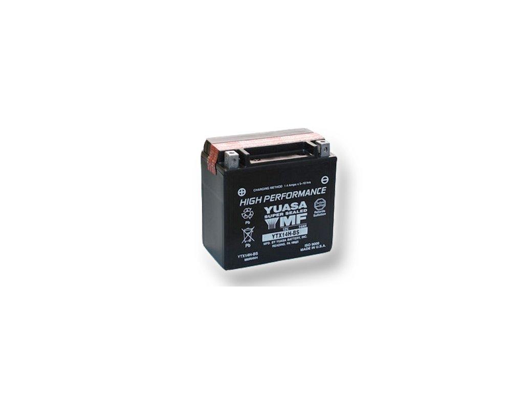 Motobatéria YUASA (originál) YTX14H-BS, 12V,  12Ah
