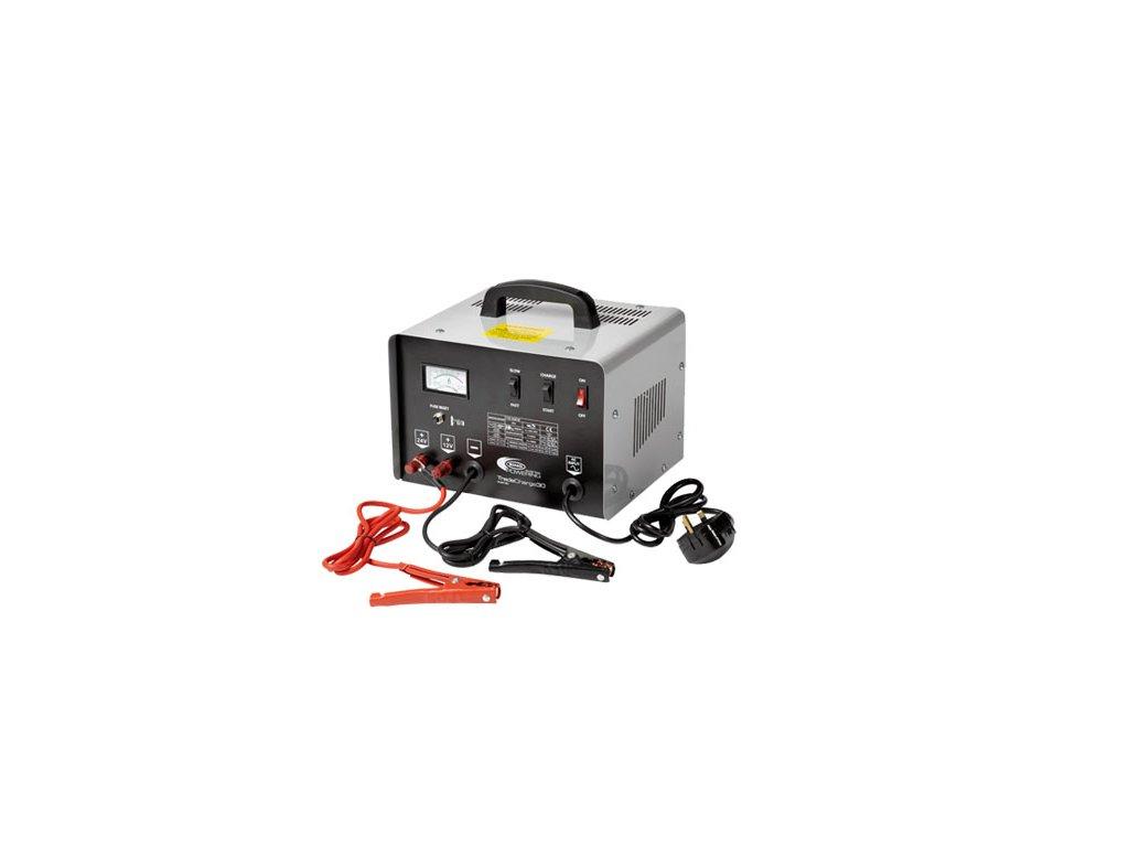 RING Profesionální nabíječka RCBT30 se startovacím zdrojem, 30A, 12V, 24V