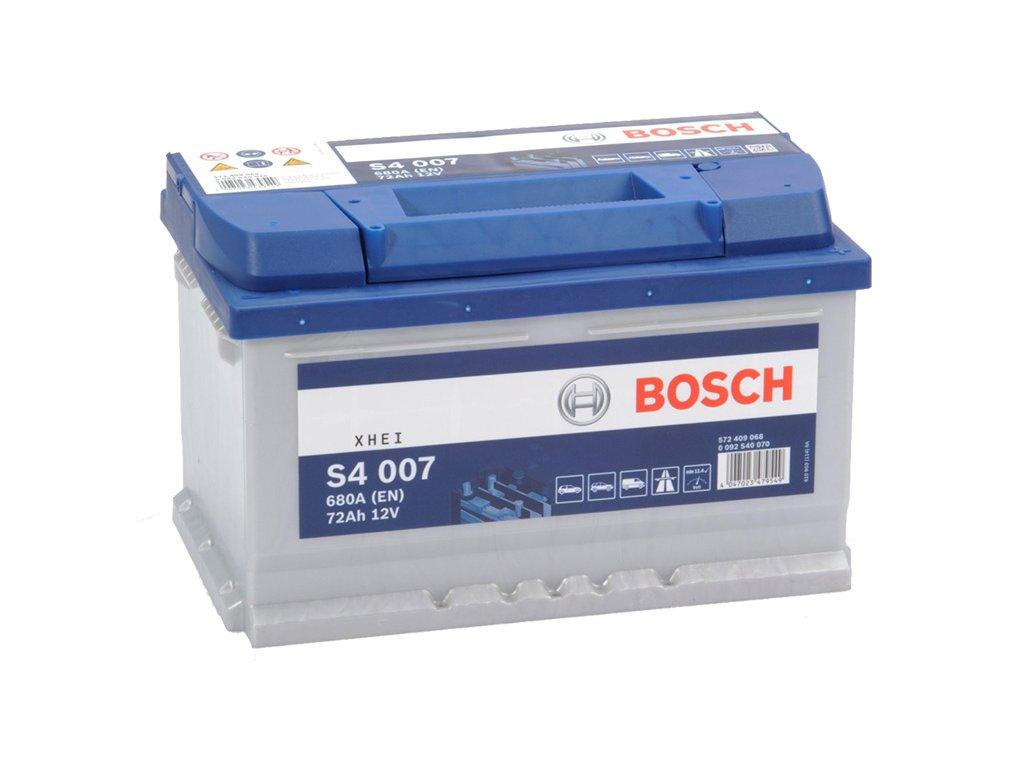Autobatéria BOSCH S4 007, 72Ah, 12V (0 092 S40 070)