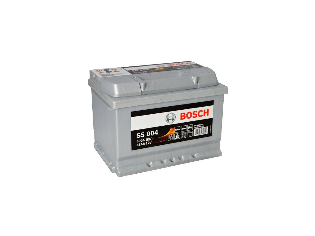 Autobatéria BOSCH S5 004, 61Ah, 12V (0 092 S50 040)