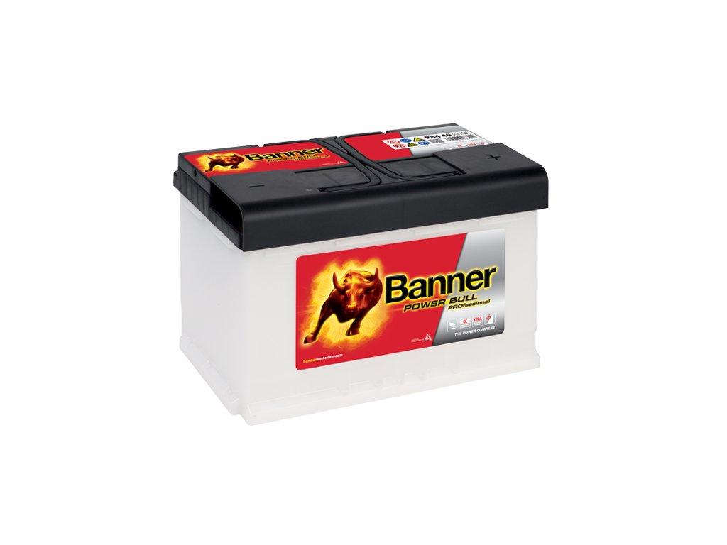 autobaterie banner power bull professional p84 40 84ah. Black Bedroom Furniture Sets. Home Design Ideas