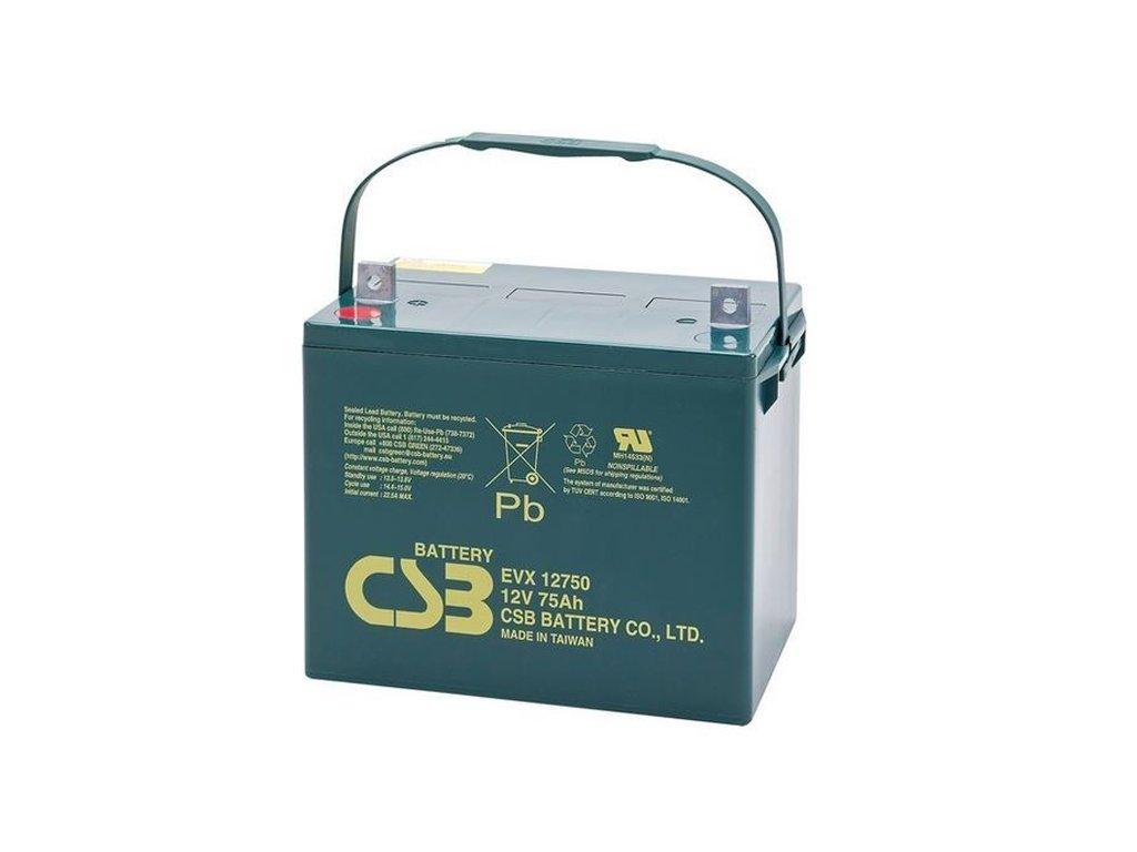 CSB Batéria EVX12750, 12V, 75Ah