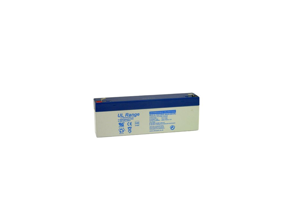 Ultracell Záložná batéria UL2.4-12 (12V - 2,4Ah), VRLA-AGM