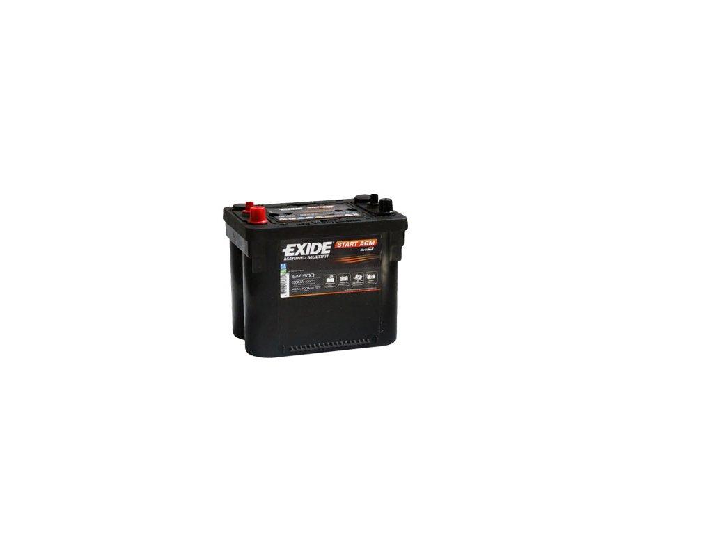 Trakčná batéria EXIDE START AGM 42Ah, 12V, EM900 (EM 900)