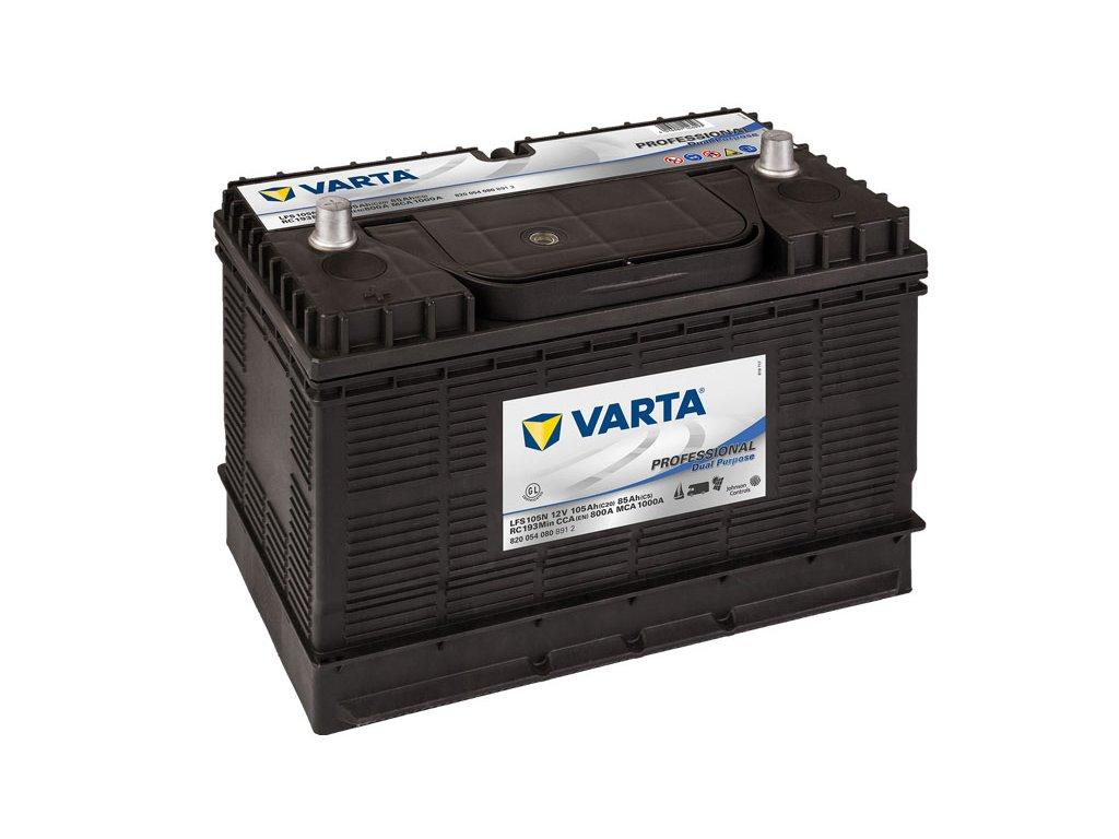 Trakčná batéria VARTA Professional Dual Purpose (Starter) 105Ah, 12V, LFS105N