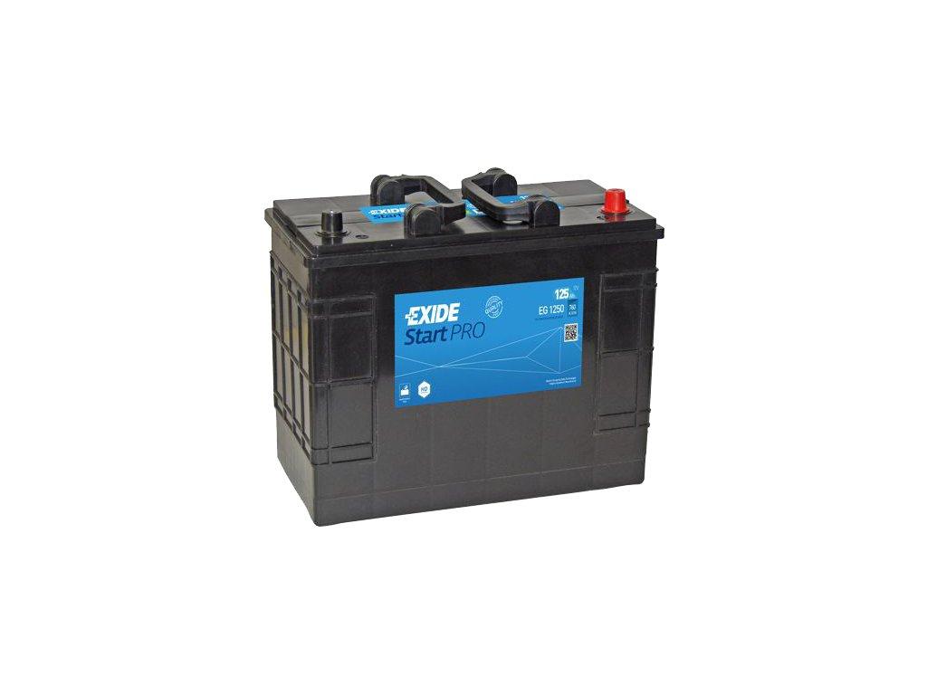 Autobatéria EXIDE StartPRO 125Ah, 12V, EG1250