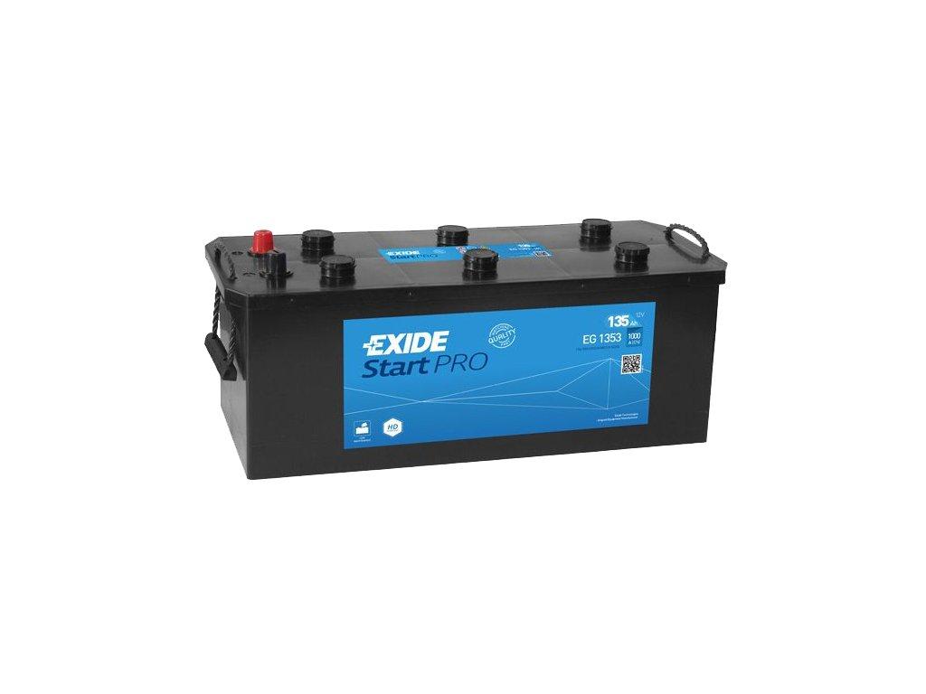 Autobatéria EXIDE StartPRO 135Ah, 12V, EG1353