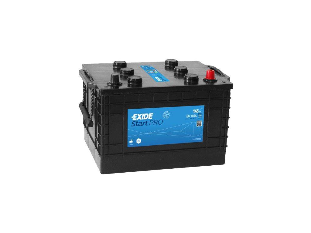 Autobatéria EXIDE StartPRO 145Ah, 12V, EG145A