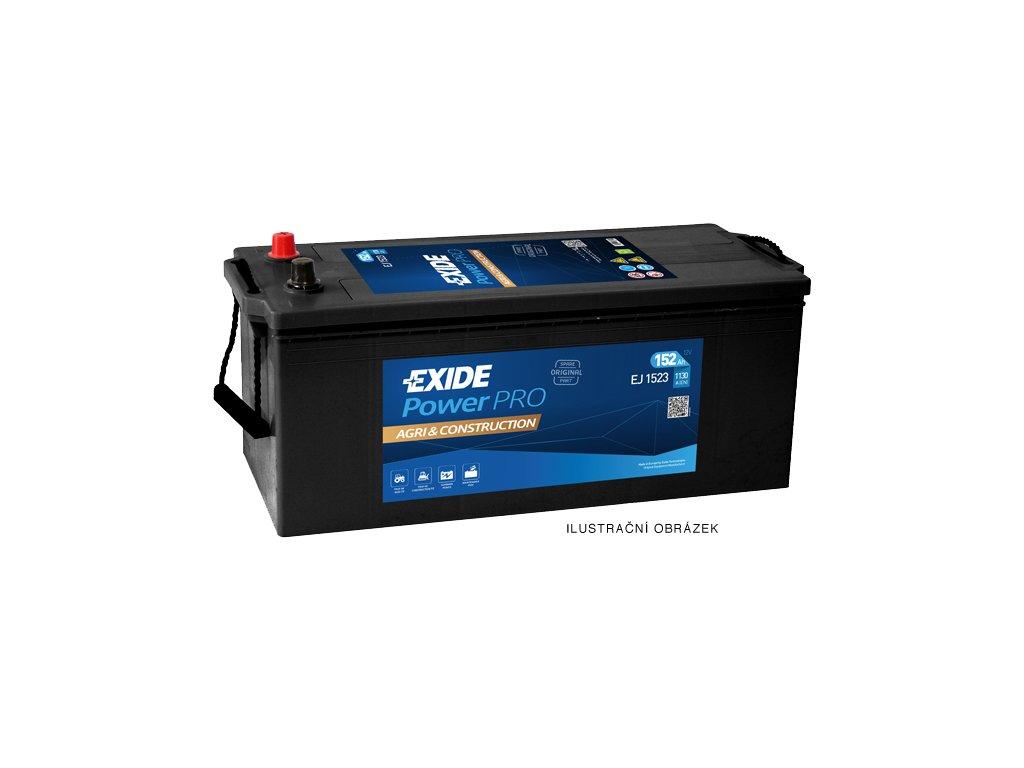 Autobatéria EXIDE PowerPRO Agri & Construction 135Ah, 12V, EJ1355
