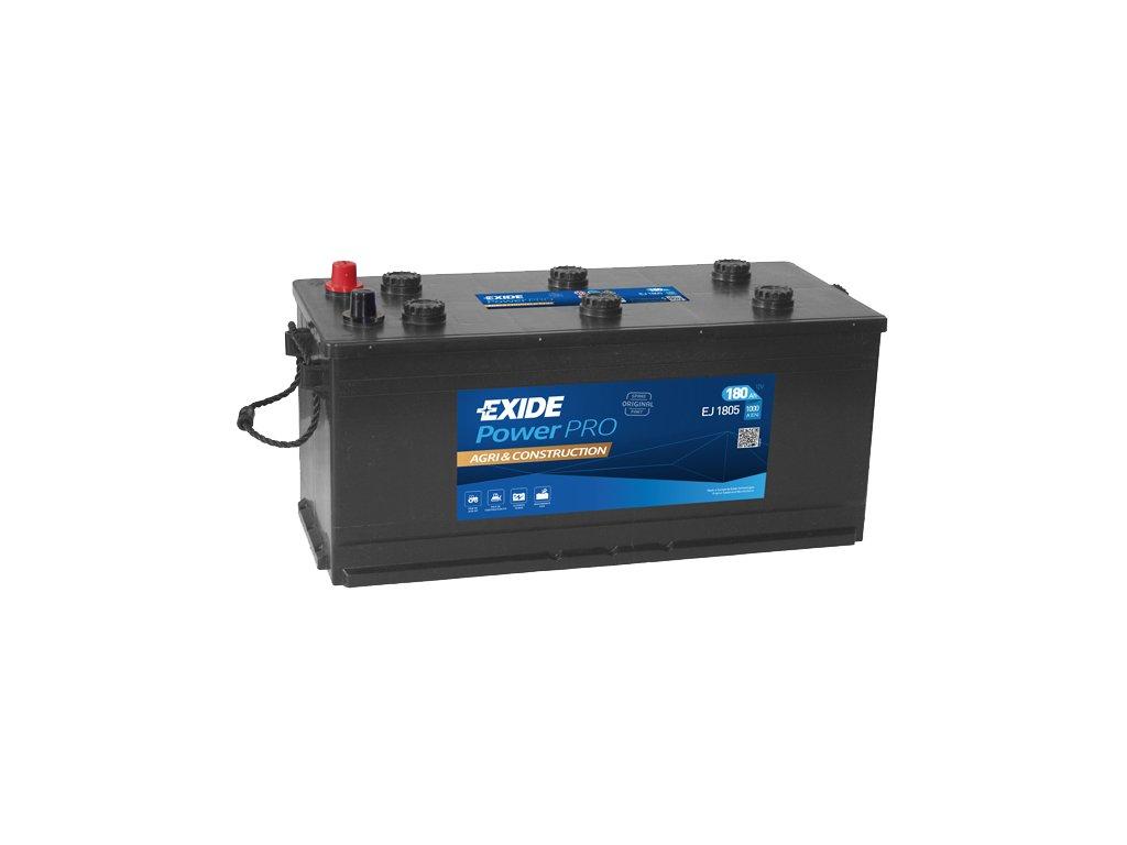 Autobatéria EXIDE PowerPRO Agri & Construction 180Ah, 12V, EJ1805