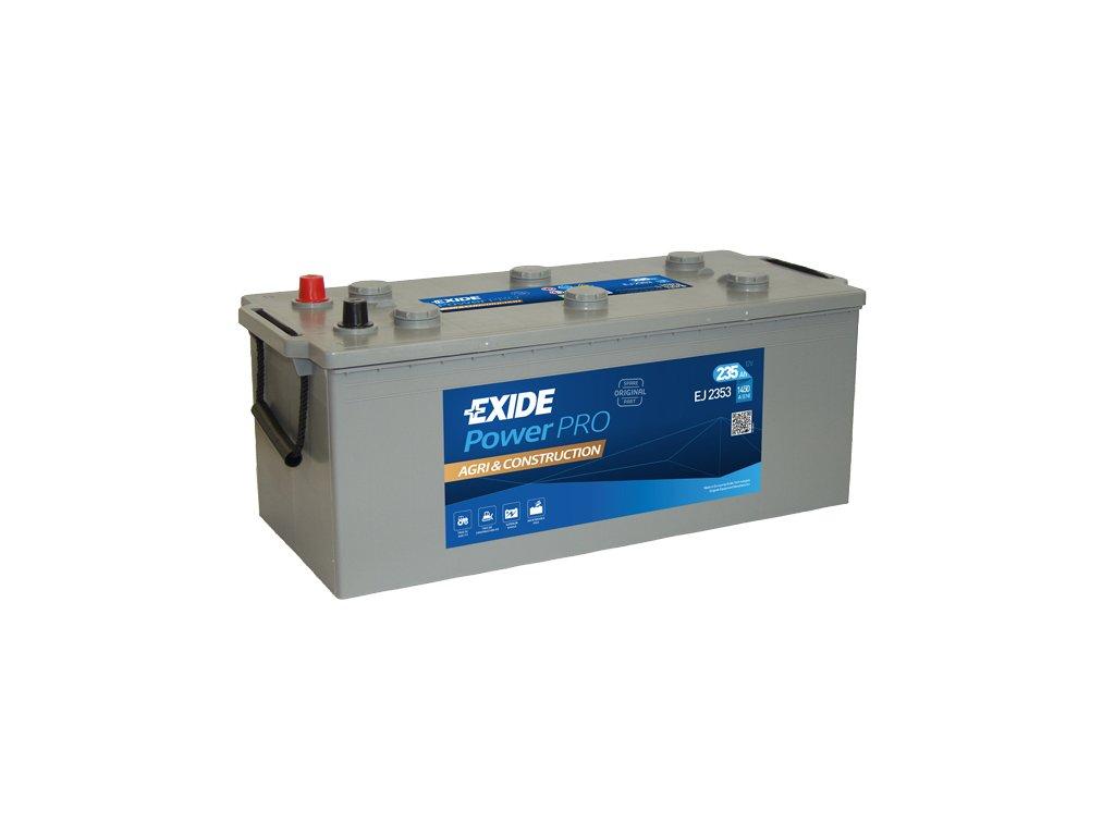 Autobatéria EXIDE PowerPRO Agri & Construction 235Ah, 12V, EJ2353