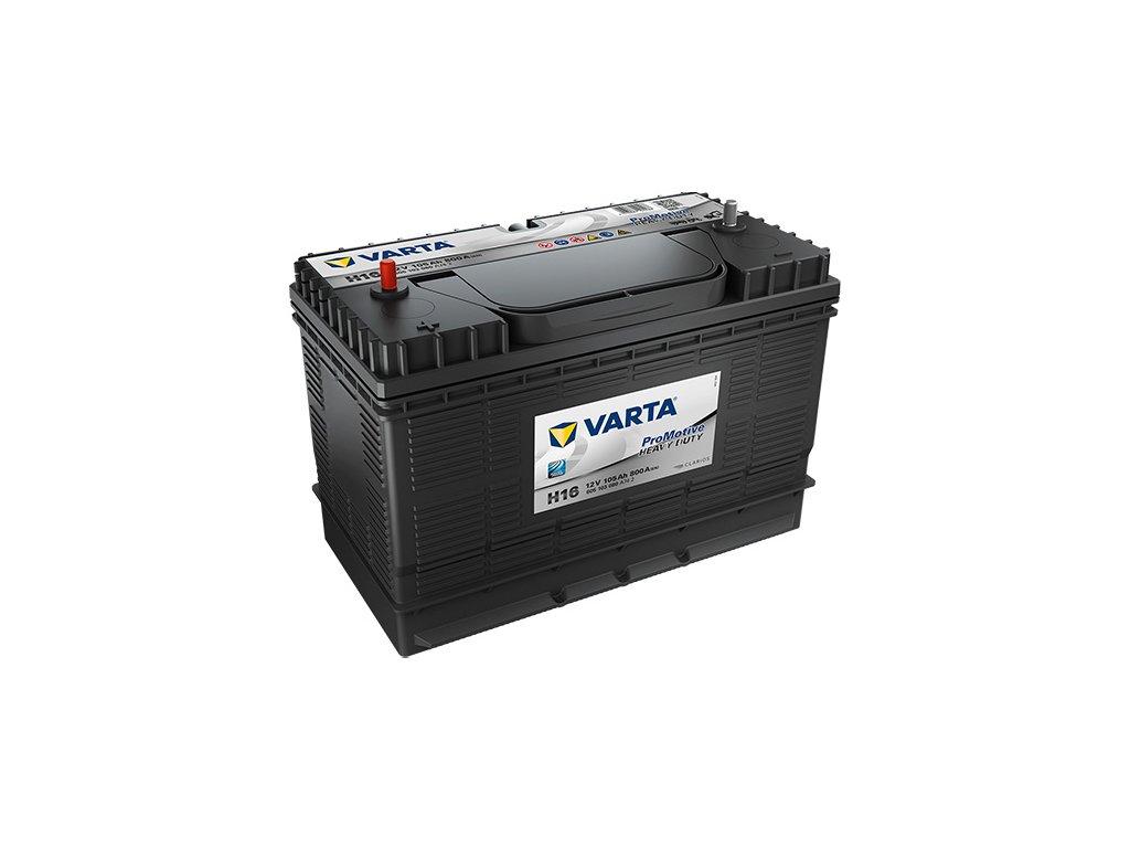 Autobatérie VARTA PROMOTIVE BLACK 105Ah, 800A, 12V, H16
