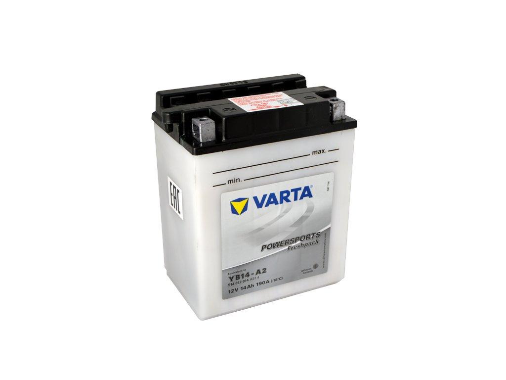 Motobatérie VARTA YB14A-A2, 12V,  14Ah