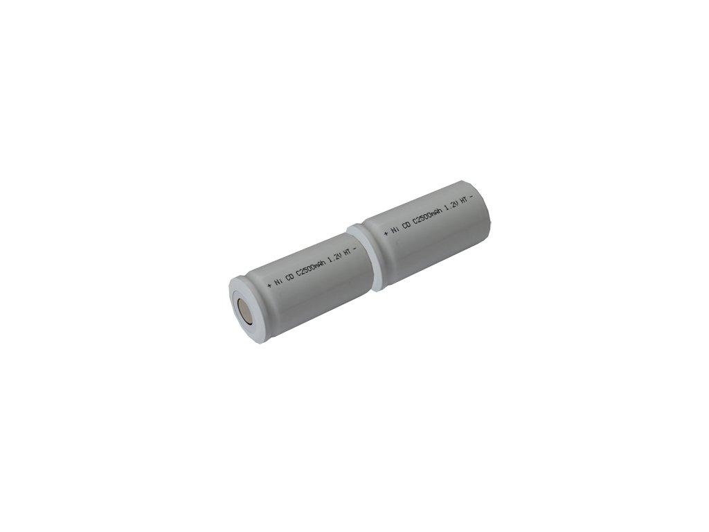 Baterie pro nouzová světla, osvětlení Goowei 2,4V 2500mAh vysokoteplotní (2STVTC)