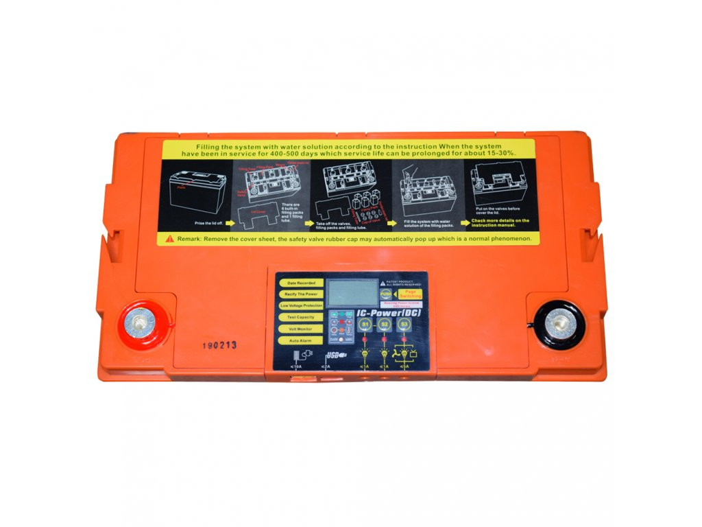 DEEP CYCLE (GEL) baterie GOOWEI ENERGY OTD100, 100Ah, 12V
