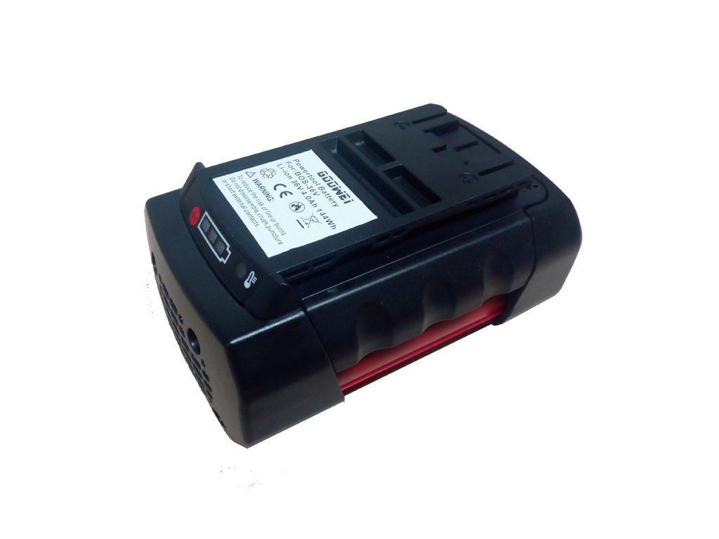 Goowei Baterie do AKU nářadí Bosch GBH 36V, 4000mAh, 36V, 144Wh