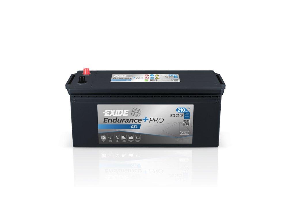 Autobatéria EXIDE EndurancePRO GEL 210Ah, 12V, ED2103