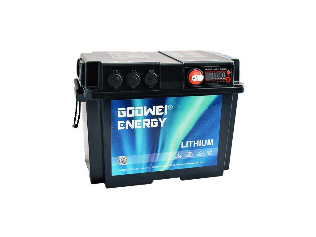 Goowei Energy Battery Box Lithium GBB150, 150Ah, 12V, 1000W