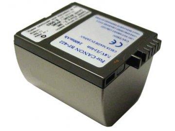 Baterie do videokamery Canon DM-MV3/DM-MV3i/DM-MV4i/Elura 10/Elura 10MC/Elura 2/Elura 20/Elura 20MC/Elura 2MC/IXY DV 2, 650mAh, 7.4V, VBI9561A