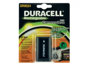 Baterie do videokamery Hitachi/Panasonic DZ-MV230E/DZ-MV270/DZ-MV270A/DZ-MV270E/AG-DVC15/AG-DVC200/AG-DVC30/AG-DVC60/AG-DVC7/AG-DVX100, 2200mAh, 7.4V, DR9524