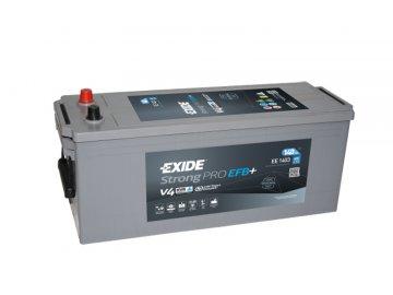 Autobaterie EXIDE Strong PRO EFB 140Ah, 12V, EE1403