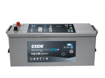 Autobaterie EXIDE Strong PRO EFB 185Ah, 12V, EE1853